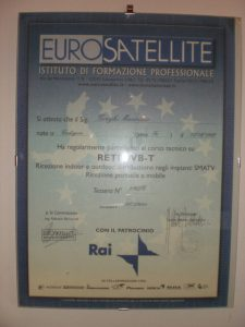 attestato eurosatellite